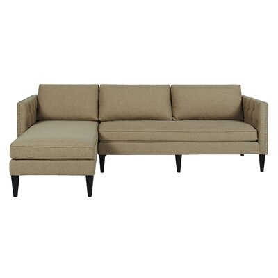 Mercury Row Kresge Reversible Chaise Sectional