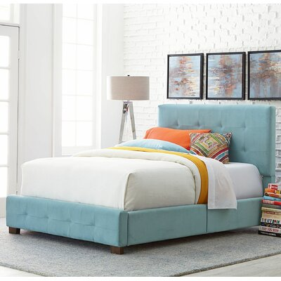 Mercury Row Upholstered Panel Bed