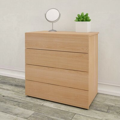 Mercury Row Bathford 4 Drawer Chest