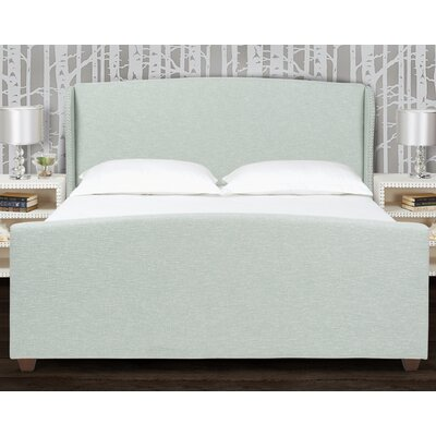 Mercury Row Becerra Upholstered Panel Bed