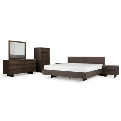 Mercury Row Beckstead Platform 6 Piece Bedroom Set