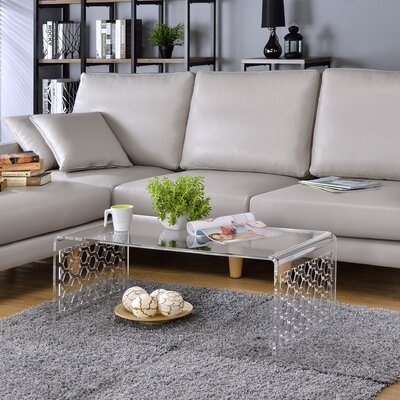 Mercury Row Bogar Honeycomb Coffee Table
