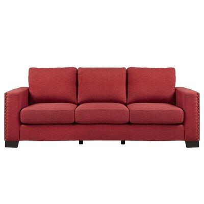 Mercury Row Blackston Nailhead Trim Sofa