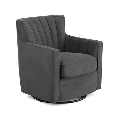 Mercury Row Bleadon Swivel Arm Chair