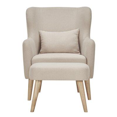 Mercury Row Branscome Club Chair and Ottoman