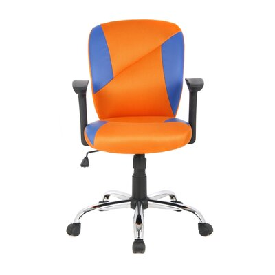 Viva Office Mid-Back Mesh Task Chair with Arms