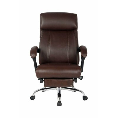 Viva Office High Back Leather Recliner Executive Chair with Padded Headrest and Armrest