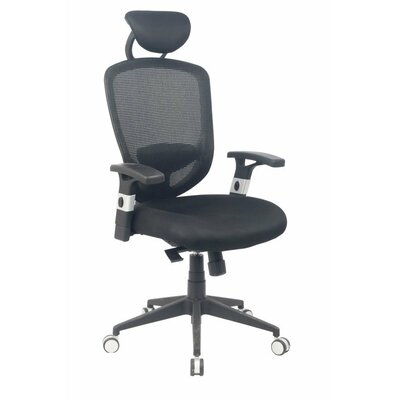Viva Office Ergonomic High-Back Mesh Task Chair with Headrest