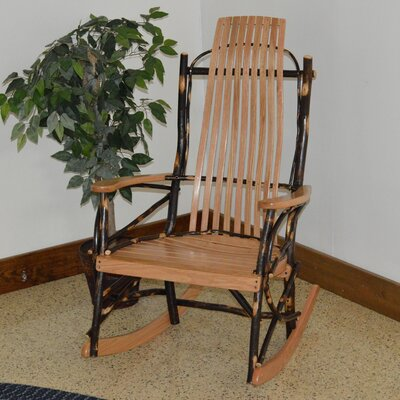 A&L Furniture Hickory Rocking Chair
