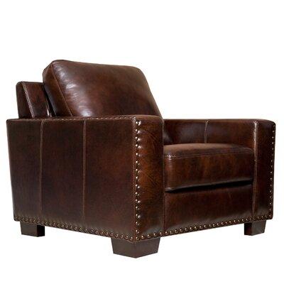 Red Barrel Studio Longacre Leather Armchair