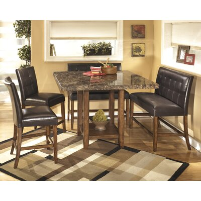 Red Barrel Studio Roadhouse 5 Piece Dining Set