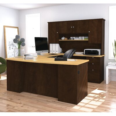 Red Barrel Studio Independence Executive Desk with Hutch Image