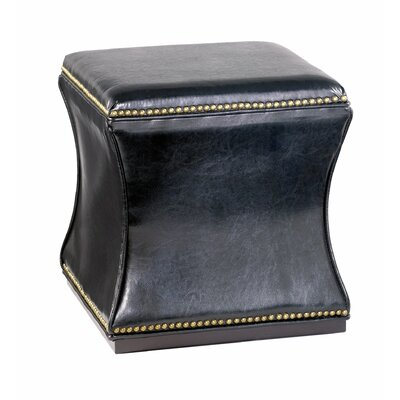 Red Barrel Studio Bohannon Leather Storage Ottoman