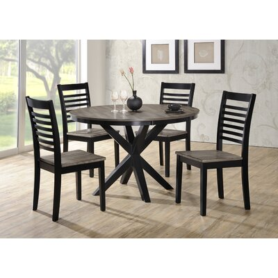 Red Barrel Studio Clipper City 5 Piece Dining Set