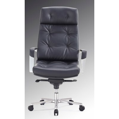 Red Barrel Studio Mountain State High-Back Executive Chair