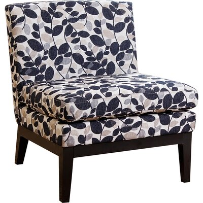 Red Barrel Studio New Holland Floral Slipper Chair