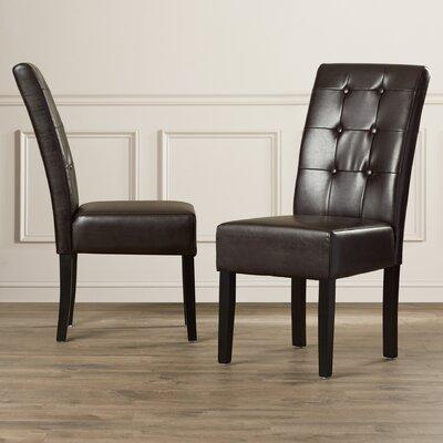 Red Barrel Studio Zaftig Parsons Chair (Set of 2)