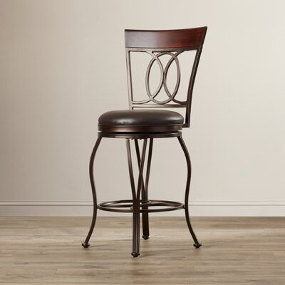 Red Barrel Studio Capitol Swivel Bar Stool