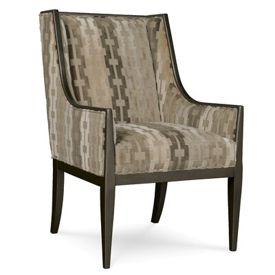 A.R.T. Wythe Coffee Bean Wing Arm Chair