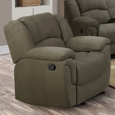 Red Barrel Studio Diamond Knot Glider Recliner