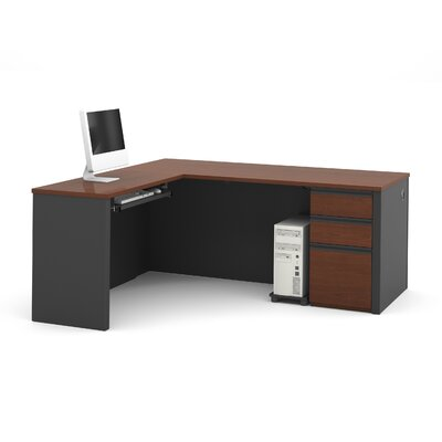 Red Barrel Studio Bormann L-Shaped Executive Desk