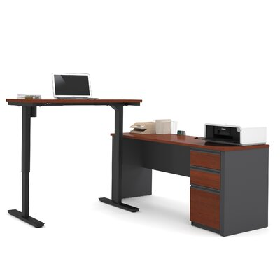 Red Barrel Studio Bormann Learning Desk with Height Adjustable Table