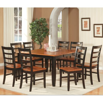 Wooden Importers Parfait 9 Piece Dining Table