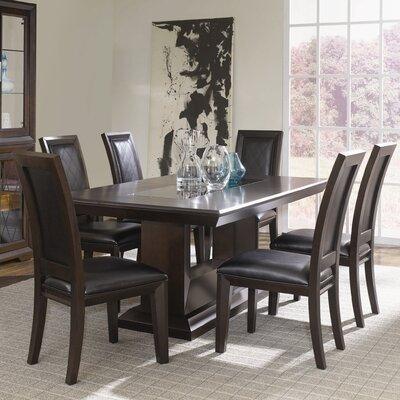 Najarian Furniture Brentwood 7 Piece Dining Set
