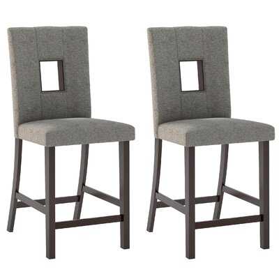 Red Barrel Studio Burgess Counter Height Parsons Chair (Set of 2)