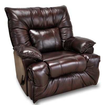 Red Barrel Studio Alchemist Leather Rocker Recliner