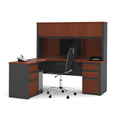 Red Barrel Studio Bormann Executive Desk Image