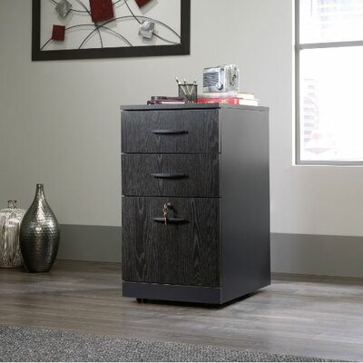 Red Barrel Studio Alchemist Three Drawer Pedestal Vertical File