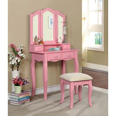 Red Barrel Studio Avoca Vanity Set with Mirror