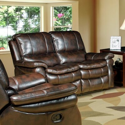 Red Barrel Studio Stapleford Dual Power Reclining Loveseat