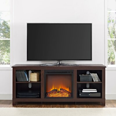 Red Barrel Studio Sitka TV Stand with Electric Fireplace