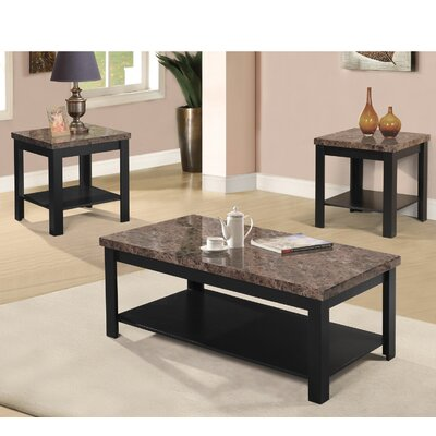 Red Barrel Studio Dearmond 3 Piece Coffee Table Set