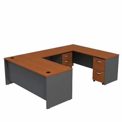 Bush Business Furniture Series C U-Desk w..