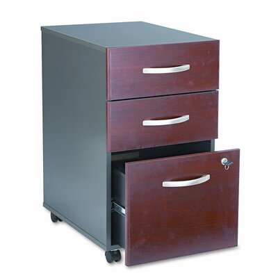 Bush Business Furniture Series C 3-Drawer Mobile Pedestal