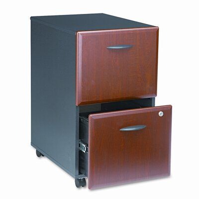 Bush Business Furniture Series A 2-Drawer Mobile Pedestal