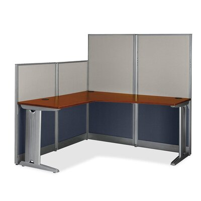 Bush Business Furniture Series C L-Bow Desk