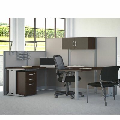 Bush Business Furniture Office in an Hour 3 Drawer Mobile Pedestal, Storage Cabinet and Accessories