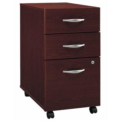 Bush Business Furniture Series C 3 Drawer Vertical File Image