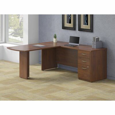 Bush Business Furniture Series C Elite Peninsula Executive Desk