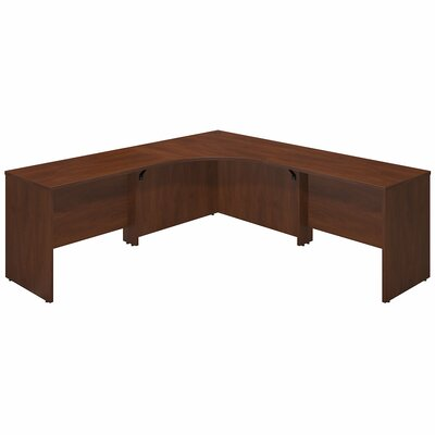 Bush Business Furniture Series C Elite Executive Desk with 2 Returns