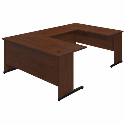 Bush Business Furniture Series C Elite Executive Desk with 2 Returns