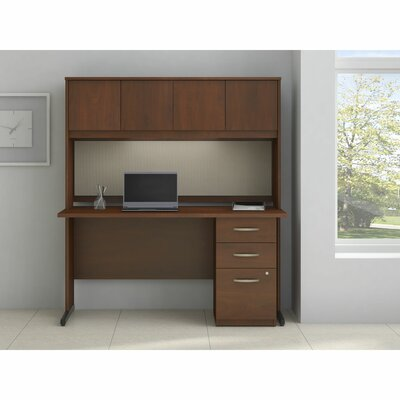 Bush Business Furniture Series C Elite Computer Desk with Storage