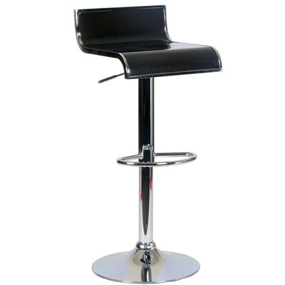 Homevision Technology Tygerclaw Adjustable Height Swivel Bar Stool