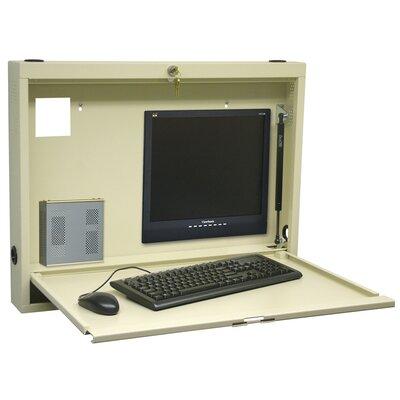 Omnimed Compact Informatics Wall Desk
