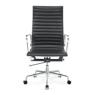 Fine Mod Imports Togo High-Back Leather Office Chair