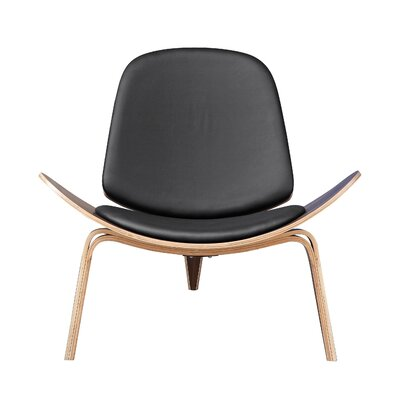 Fine Mod Imports Shell Arm Chair